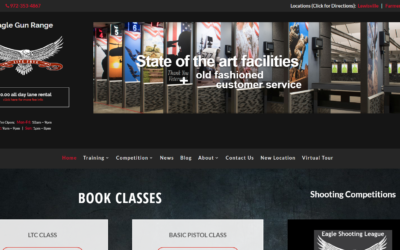 Eagle Gun Range website makeover leads to enough growth for second location